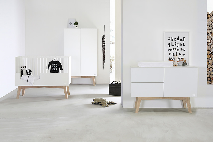 Sixties Blanco / Roble