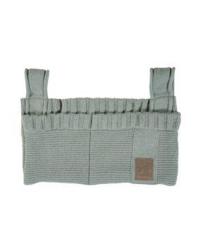 Knitted Stone Green - Bolsa de almacenamiento