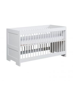 Lodge White - Cot bed