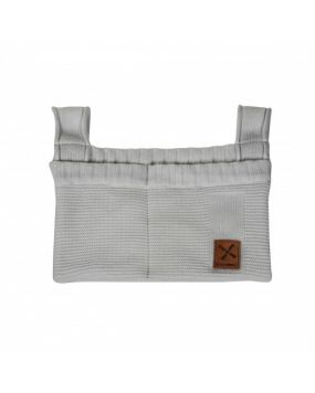 Knitted Gris - Bolsa de almacenamiento