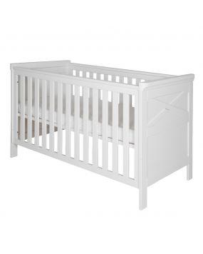 Savona Blanco con cruz - Cuna cama 70x140