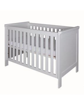 Savona Blanco sin cruz - Cuna cama 70x140