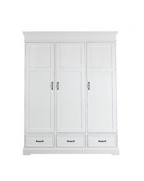 Savona Blanco sin cruz - Armario (3 puertas)