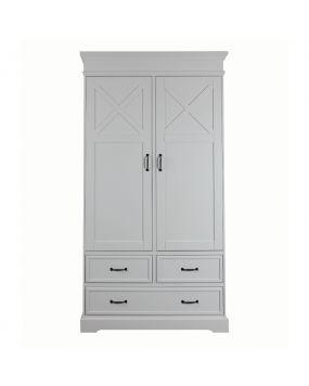 Savona Blanco con cruz - Armario (2 puertas)
