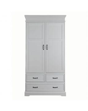 Savona Blanco sin cruz - Armario (2 puertas)