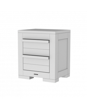 Nature White - Bedside table