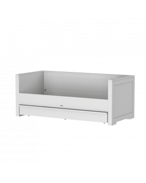 Nature White - Cabin bed 90x200 incl. drawer