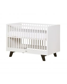 Fynn white / black - Cot 60x120