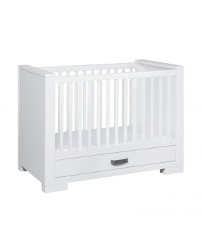 Lodge White - Cot with drawer