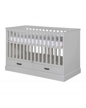 Newport II Grey - Cot bed 70x140